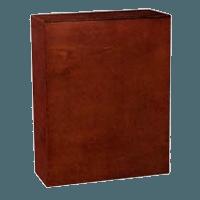 Moderne Wood Cremation Urn