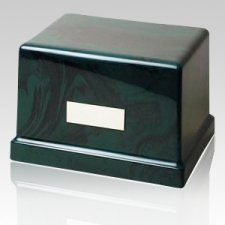 Moderno Forest Marble Cremation Urn