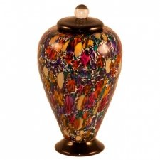 Mojave Glass Pet Cremation Urn