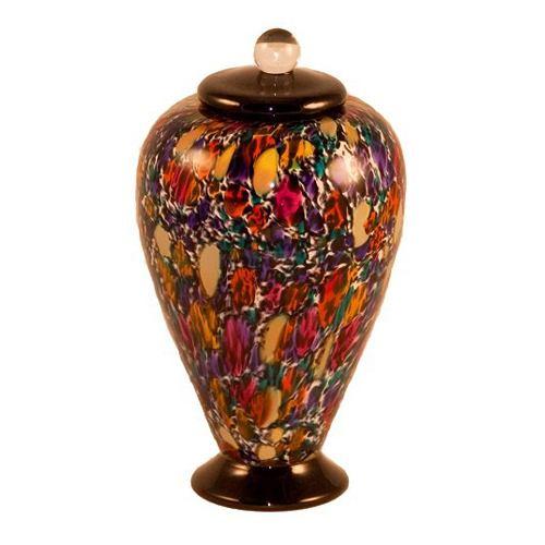 Mojave Glass Pet Cremation Urn