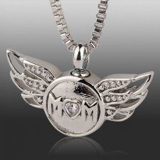 Keepsake pendants memorial cremation pendant for ashes mom cremation necklace aloadofball Gallery