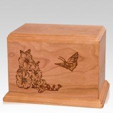 Monarch Companion Cherry Wood Urn