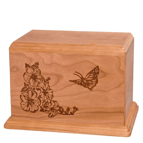 Monarch Companion Cherry Wood Urn
