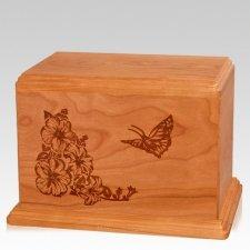 Monarch Companion Mahogany Wood Urn