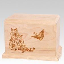 Monarch Companion Maple Wood Urn