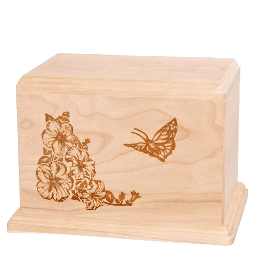 Monarch Companion Maple Wood Urn