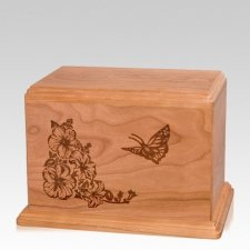 Monarch Individual Cherry Wood Urn
