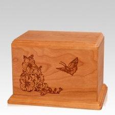 Monarch Individual Mahogany Wood Urn
