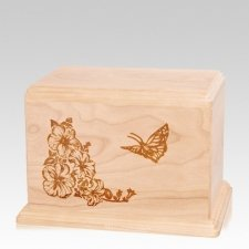 Monarch Individual Maple Wood Urn