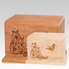 Monarch Wood Urns