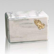 Montenegro Praying Hands Marble Cremation Urn