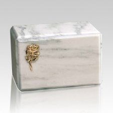 Montenegro Rose Marble Cremation Urn