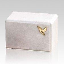 Montenegro Dove Marble Cremation Urn