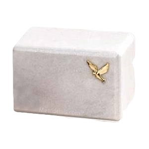Montenegro Dove Marble Cremation Urn