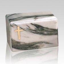 Montenegro Cross Marble Cremation Urn