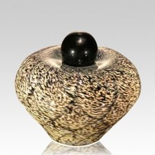 Moon Dance Glass Cremation Urn