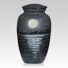 Moonlight Metal Cremation Urn