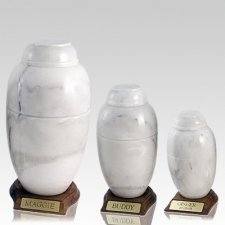 Moonlit Marble Pet Urns