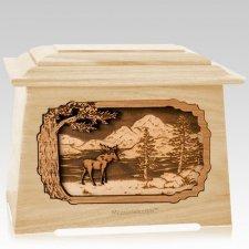 Moose Maple Aristocrat Cremation Urn