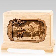 Moose Maple Hampton Cremation Urn