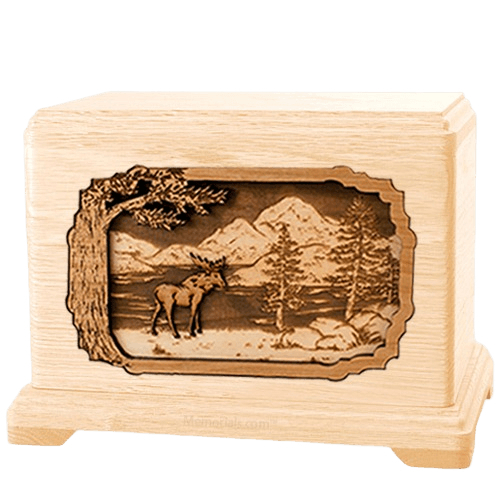 Moose Maple Hampton Cremation Urn