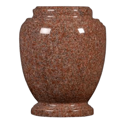 Morning Rose Granite Cremation Urn