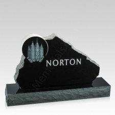 Mormon Companion Granite Headstone