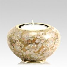 Morning Mist Candle Cloisonne Urn