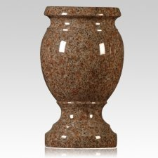 Morning Rose Granite Vase