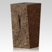 Morning Rose Rustic Granite Vase