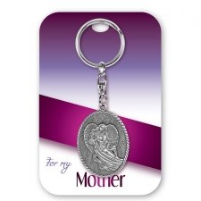 Mother Angel Keychain