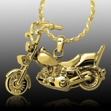 Motorcycle Cremation Pendant IV