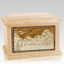 Mount Splendor Maple Memory Chest Cremation Urn