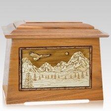 Mount Splendor Oak Aristocrat Cremation Urn