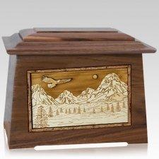 Mount Splendor Walnut Aristocrat Cremation Urn