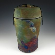 Mountain Raku Cremation Urn