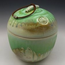 Mountain Side Cremation Urn
