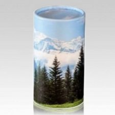 Mountainside Pet Scattering Urn