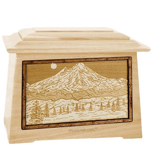 Mt Baker Maple Aristocrat Cremation Urn