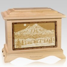 Mt Baker Maple Cremation Urn
