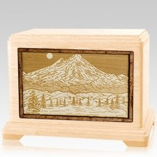 Mt Baker Maple Hampton Cremation Urn