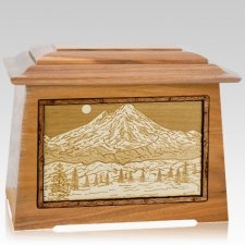 Mt Baker Oak Aristocrat Cremation Urn