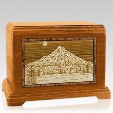 Mt Hood Mahogany Hampton Cremation Urn