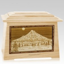 Mt Hood Maple Aristocrat Cremation Urn