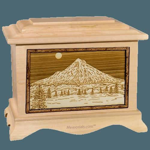 Mt Hood Maple Cremation Urn