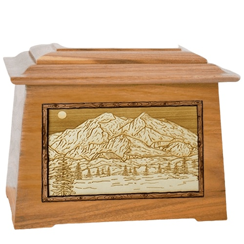 Mt McKinley Oak Aristocrat Cremation Urn