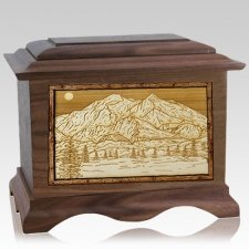 Mt McKinley Wood Cremation Urns