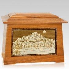 Mt Rainier Mahogany Aristocrat Cremation Urn
