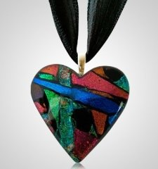Multi Heart Ashes Pendants