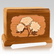 Mums Mahogany Hampton Cremation Urn